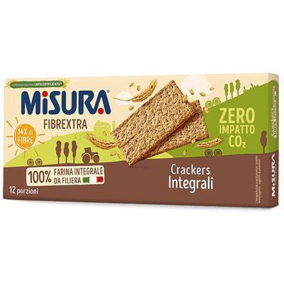 misura crackers fibrextra integrali senza olio di palma gr.400
