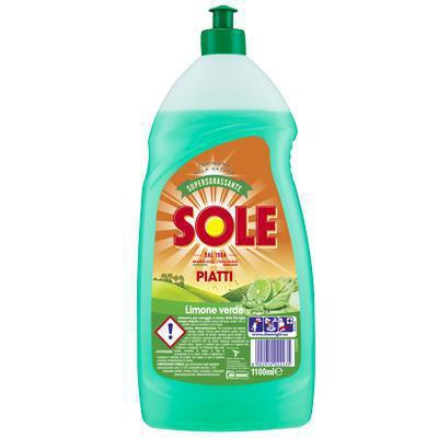 sole detersivo  piatti limone verde lt.1,1