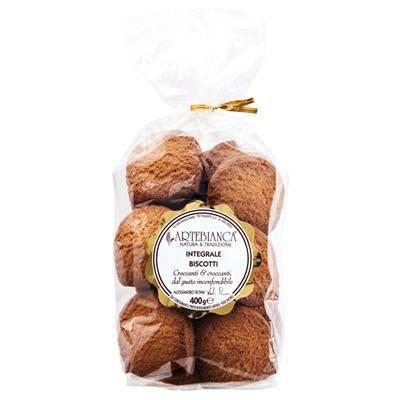 arte bianca biscotti integrali gr.400