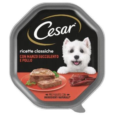 cesar ricette classiche  con manzo e pollo  gr.150
