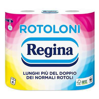 regina rotoloni carta igienica x 4 rotoli