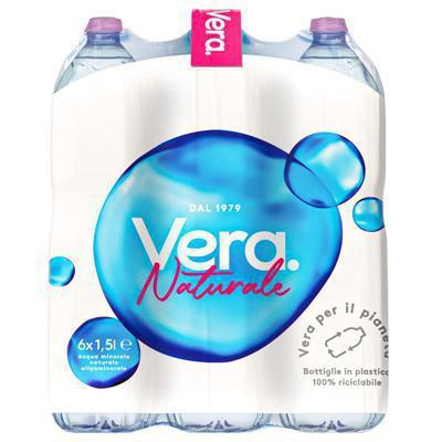 vera acqua naturale l.1.5 x 6