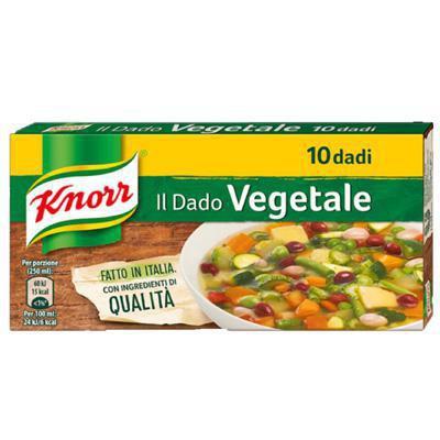knorr dado gusto vegetale x 10