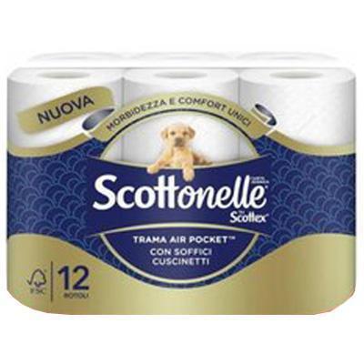 scottonelle carta igienica ultra x 12 rotoli