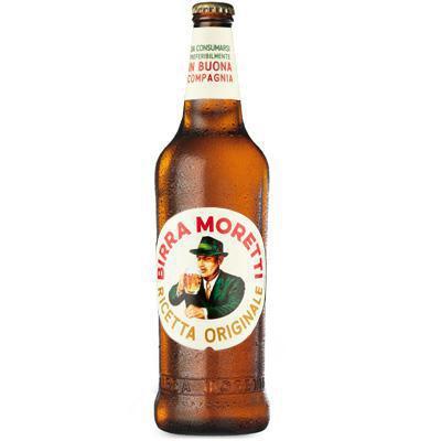 moretti birra baffone ml.660