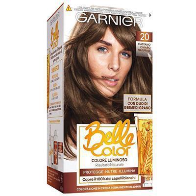 belle color shampoo castano c.n20