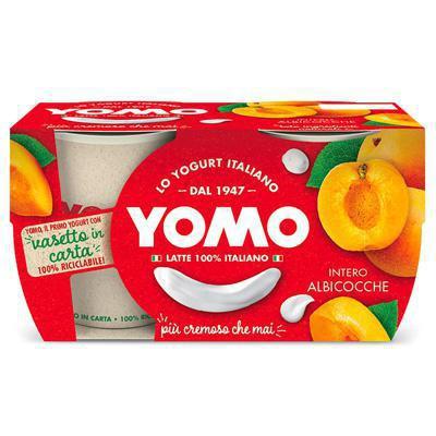 yomo yogurt albicocca  gr.125x2 100% naturale