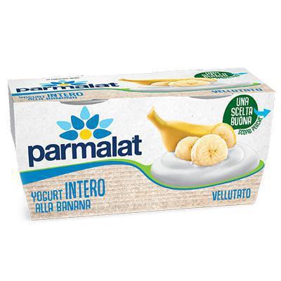 parmalat yogurt cremoso banana gr.125x2