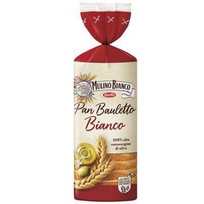 mulino bianco pane bianco pan bauletto gr.400