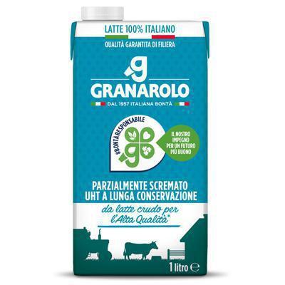 granarolo latte uht parzialmente scremato lt.1