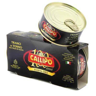 callipo tonno olio oliva gr.160x2