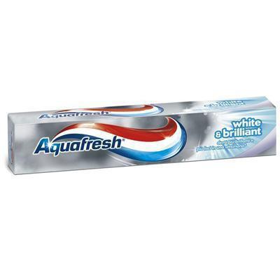aquafresh dentiifricio white & brilliant ml..75