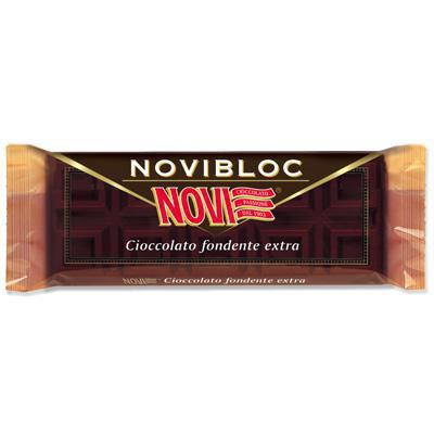 novi novibloc cioccolato extra fondente gr.150