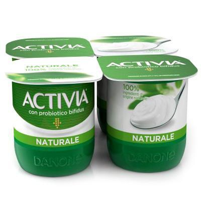 danone activia yogurt naturale gr.125 x 4