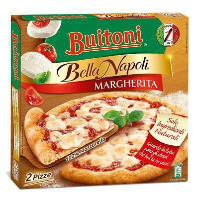 buitoni pizza margherita bella napoli gr.660 2 pezzi