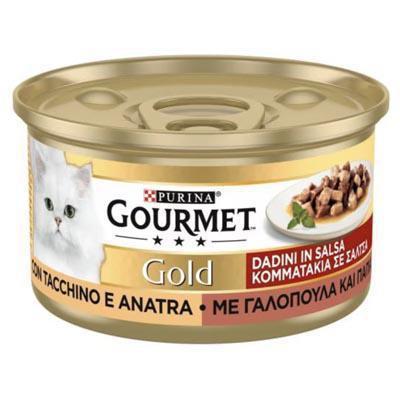 gourmet gold tacchino e anatra gr.85