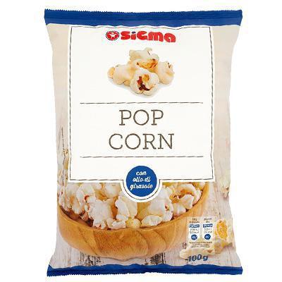 sigma pop corn gr.100