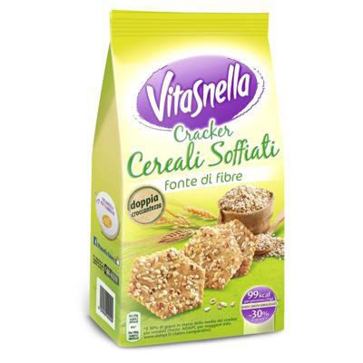 saiwa vitasnella cracker cereali soffiati gr.200
