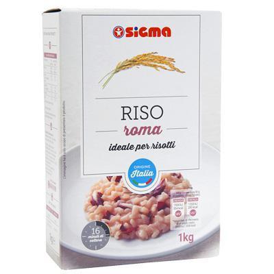 sigma riso roma ideale per risotti kg.1