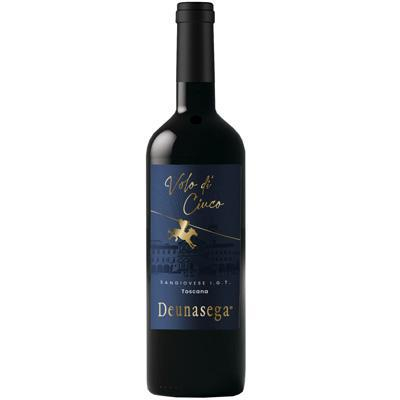 deunasega vino rosso igt toscana volo di ciuco cl.75