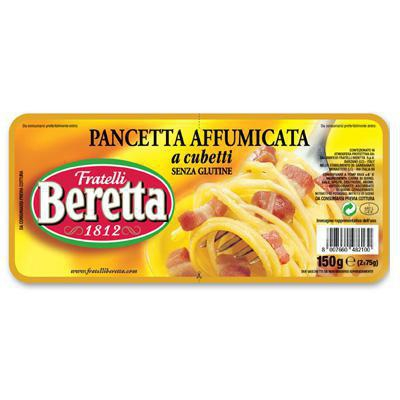 beretta cubetti pancetta affumicata gr.150