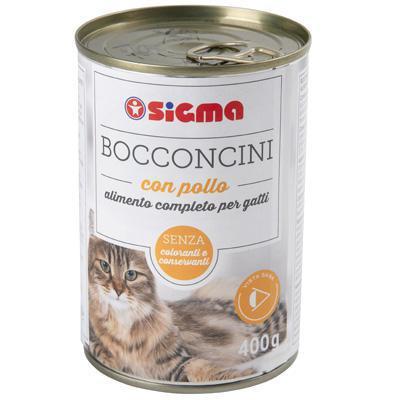 sigma bocconcini per gatto con pollo gr.400