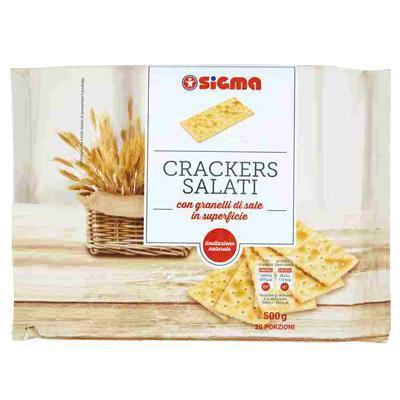 sigma crackers salati gr.500