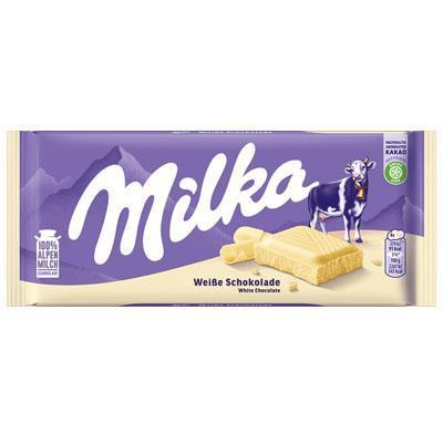 milka tavoletta cioccolato bianco gr. 100