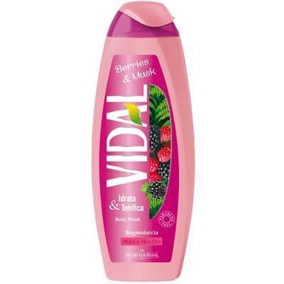 vidal bagno mora/muschio ml.500