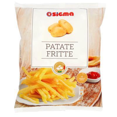 sigma patate fritte congelate gr.750