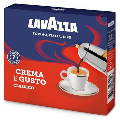 lavazza caffe' crema e gusto gr.250 x 2