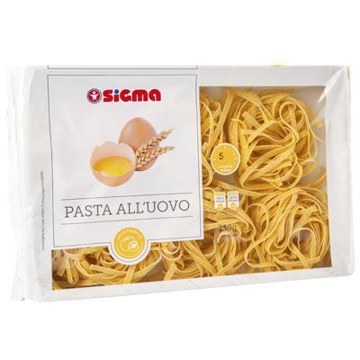 sigma tagliatelle pasta all`uovo gr.250