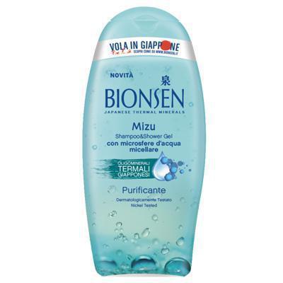 bionsen doccia mshampoo mizu gel purificante ml.250