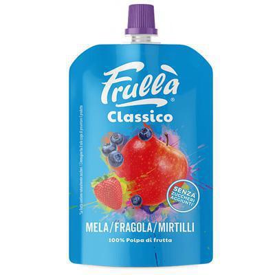 frulla'  fragola mirtillo ml.100 100% frutta frullata