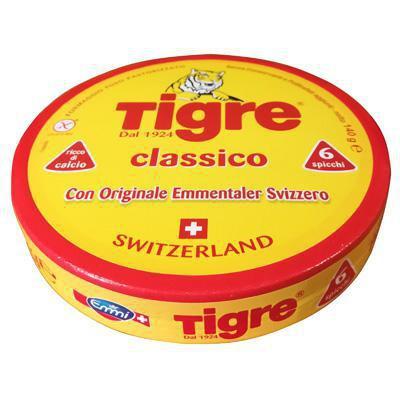 tigre formaggini emmentaler svizzero gr.140