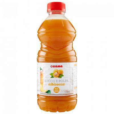 sigma albicocca bottiglia lt.1