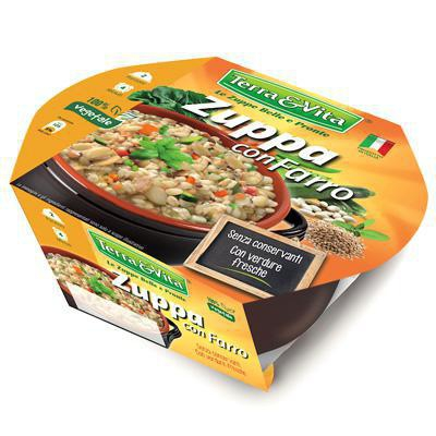 terra&vita zuppa con farro gr.620