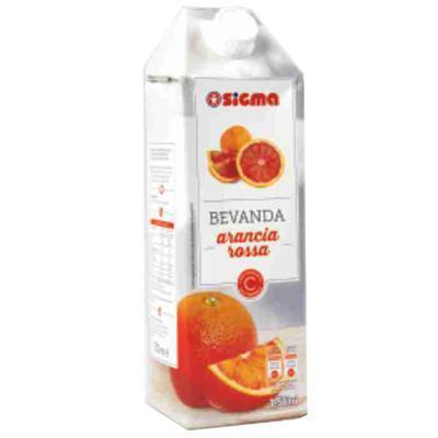 sigma succo arancia rossa con aggiunta di vitamina c  lt 1.5