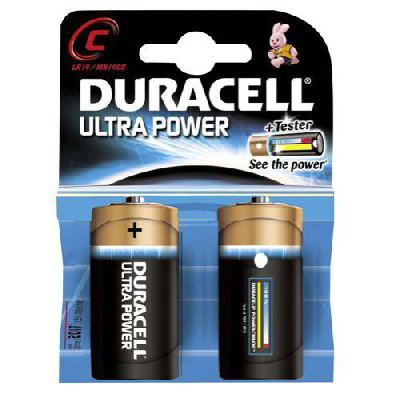 duracell 1/2 torcia ultrapower 1400