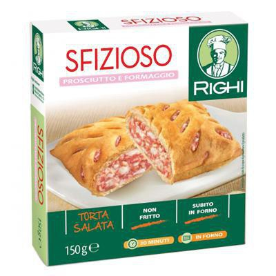 righi friarielli prosciutto/formaggio gr.150