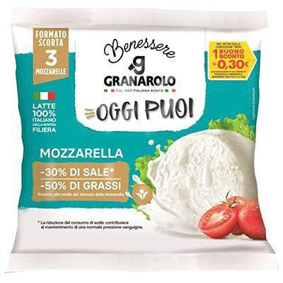 granarolo mozzarella oggi puoi gr.100x3 latte 100% italiano