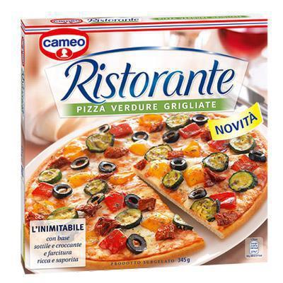cameo pizza ristorante verdure grigliate gr.345