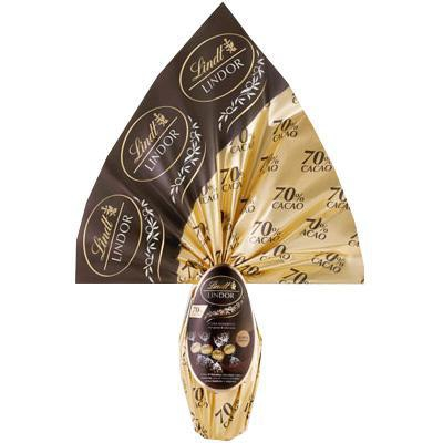 lindt uovo excellence fondente 70% cacao gr.320
