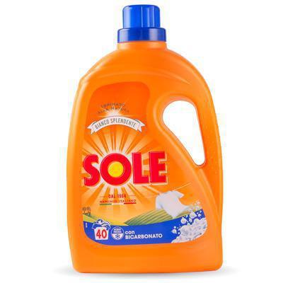 sole lavatrice bicarbonato 40 misurini lt.2,6