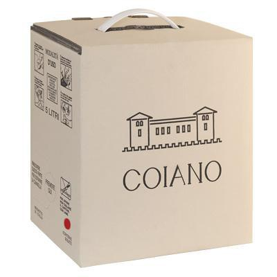 coiano bag in box vino rosso 12,5% vol.  lt.5