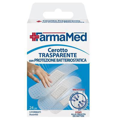 farmamed cerotti trasparenti con batteriostatico pezzi 24