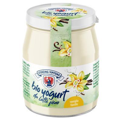 vipiteno yogurt bio vaniglia vetro gr.150