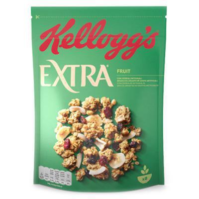 kelloggs cereali extra frutta gr. 375