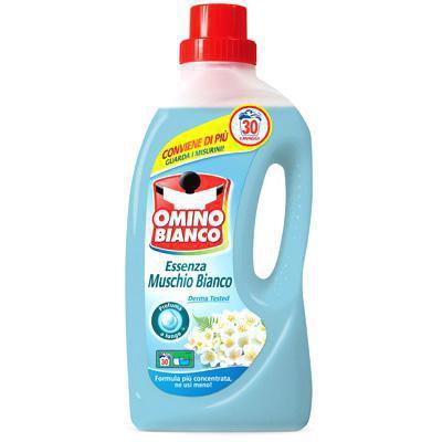 omino bianco detersivo liquido essenza muschio bianco.lt.1,5