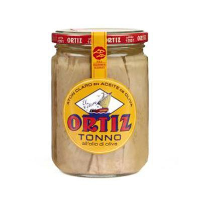 ortiz tonno vetro all'olio di oliva gr.220